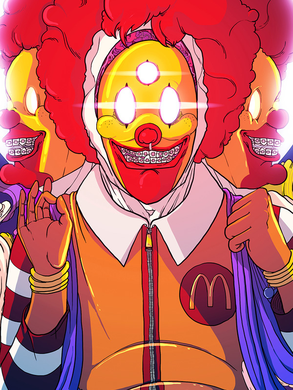 ilustraciones fast food 5