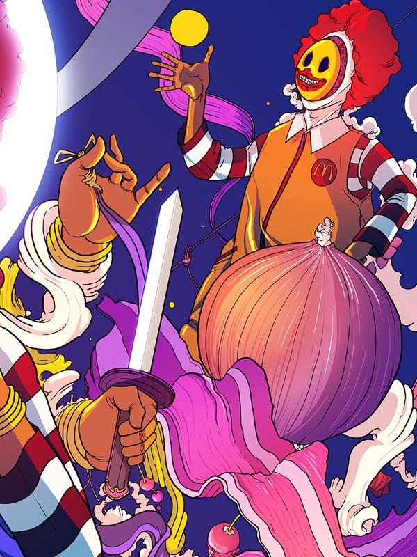ilustraciones fast food 6
