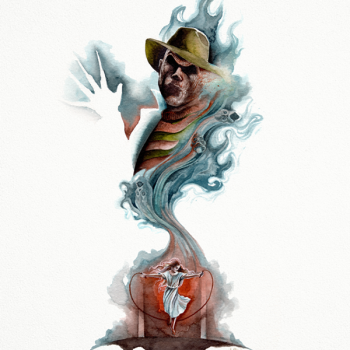 posters personajes terror freddy