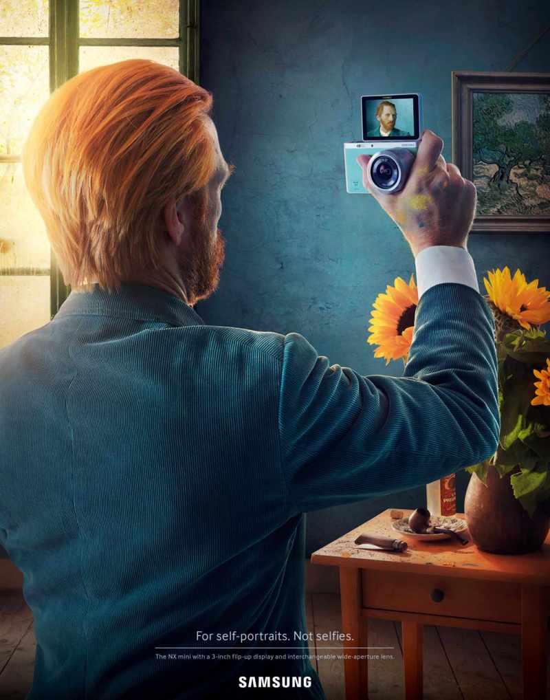 publicidad Samsung NX mini masterpiece 1