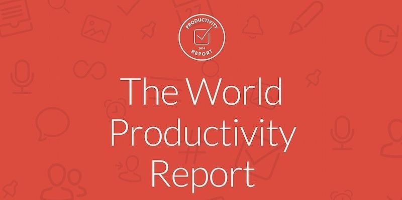 reporte productividad wunderlist