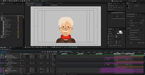 tributo chespirito animacion proceso 2
