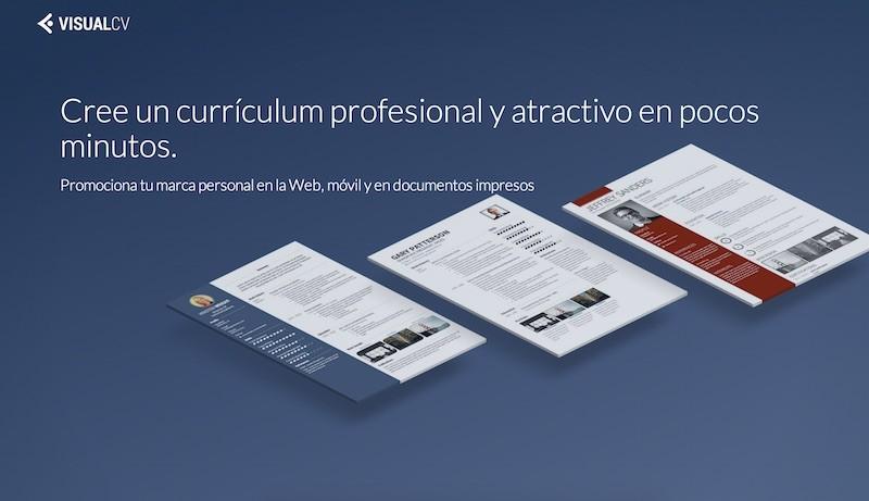 editor para crear curriculums vitae en linea