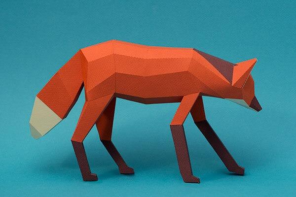 animales hechos con papel guazu