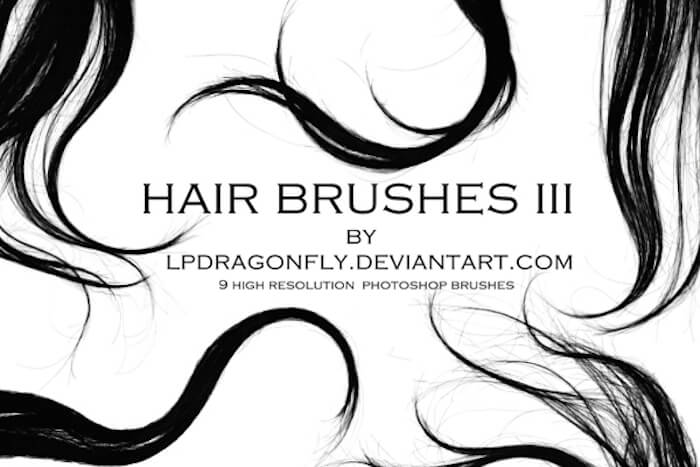 brushes photoshop cabello 1