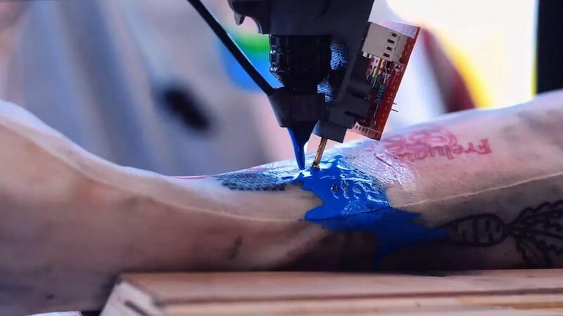 impresora 3D de tatuajes