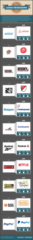 infografia logos redisenados 2014