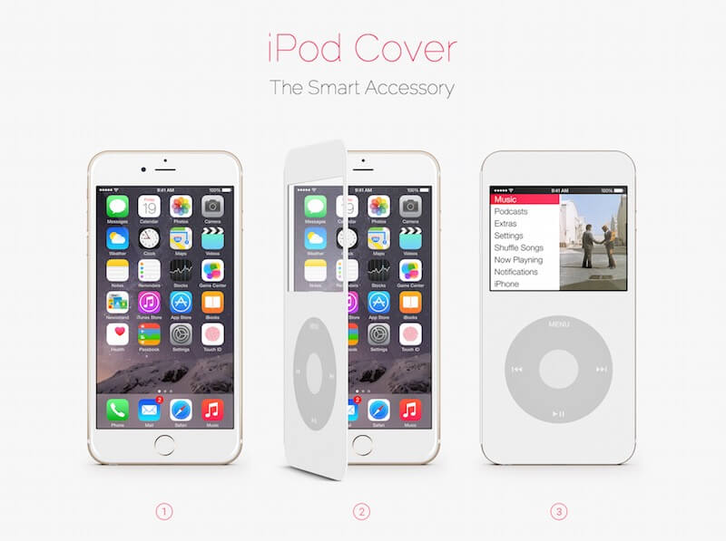 ipodcover convertir iphone ipod 2