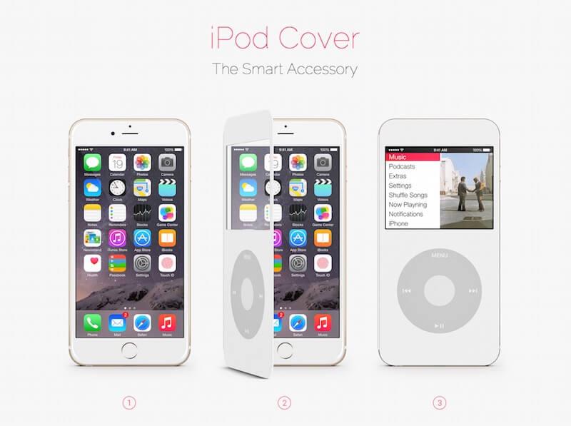 ipodcover convertir iphone ipod 2