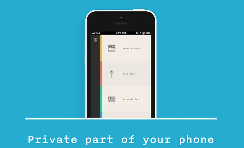 keeply App para guardar datos privados