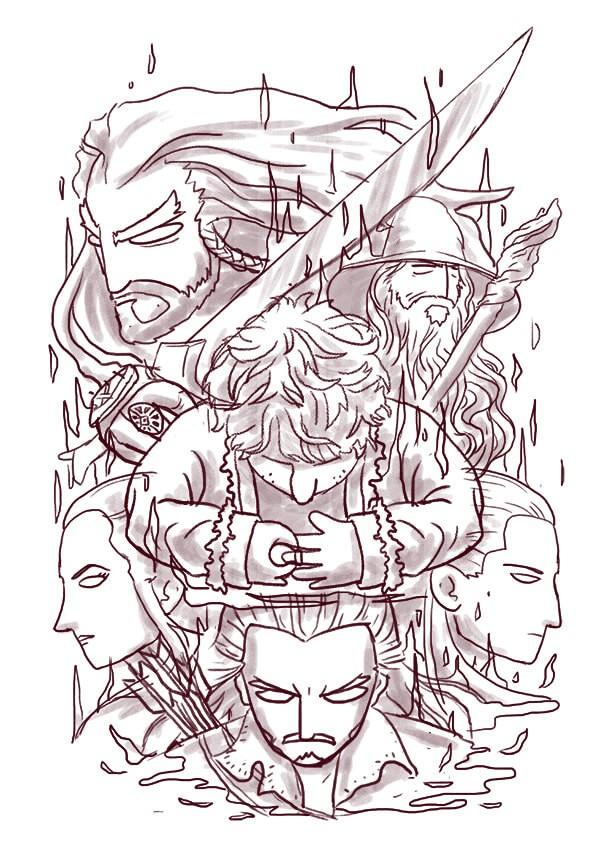 mockup hobbit angga