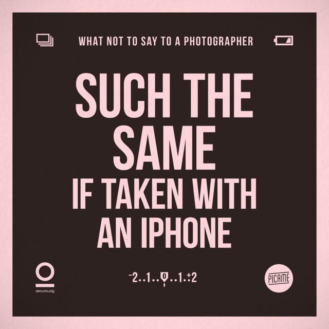 Es lo mismo si la tomo con mi iPhone