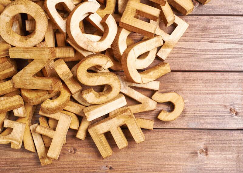 tipografías más usadas
