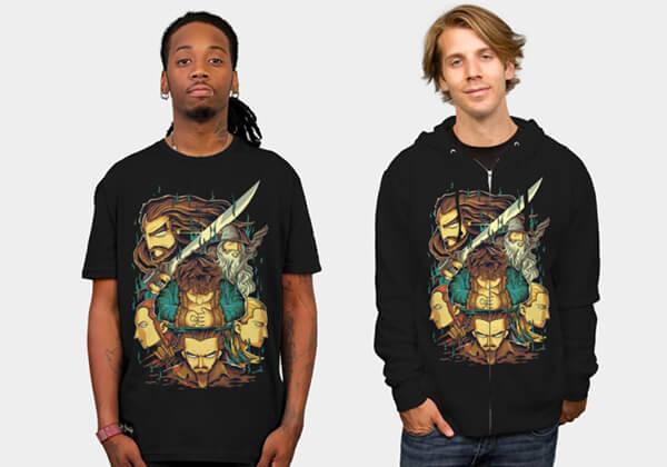 tshirt hobbit angga