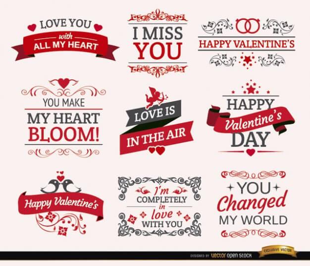 vectores tarjetas san valentin img 4