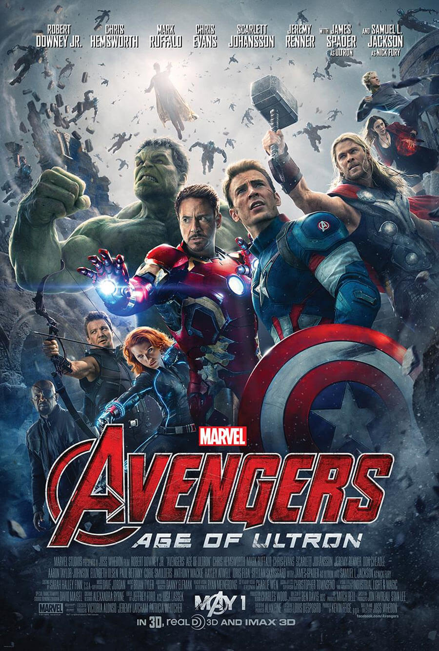 Primer poster oficial Avengers Age of Ultron