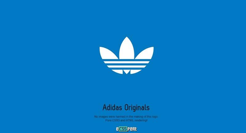 logos css adidas