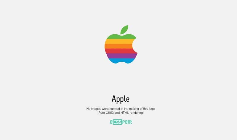logos css apple