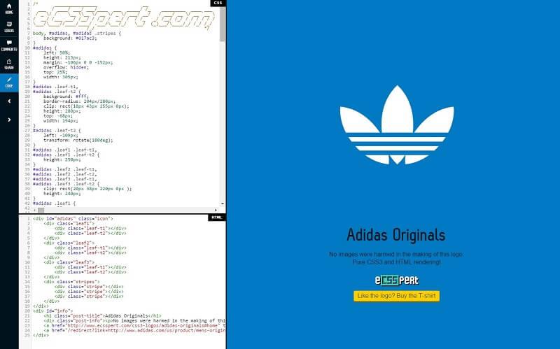 logos css codigo