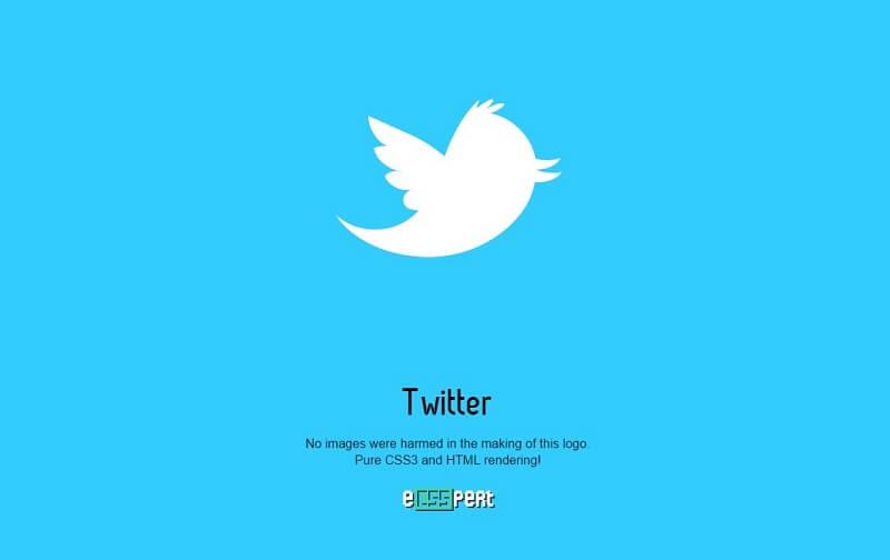 logos css twitter
