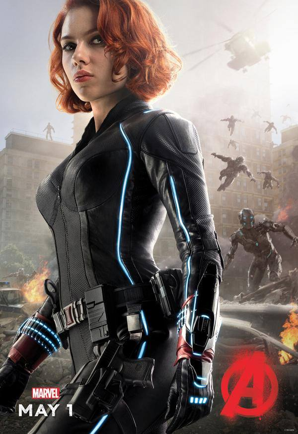 poster avengers age of ultron Black Widow