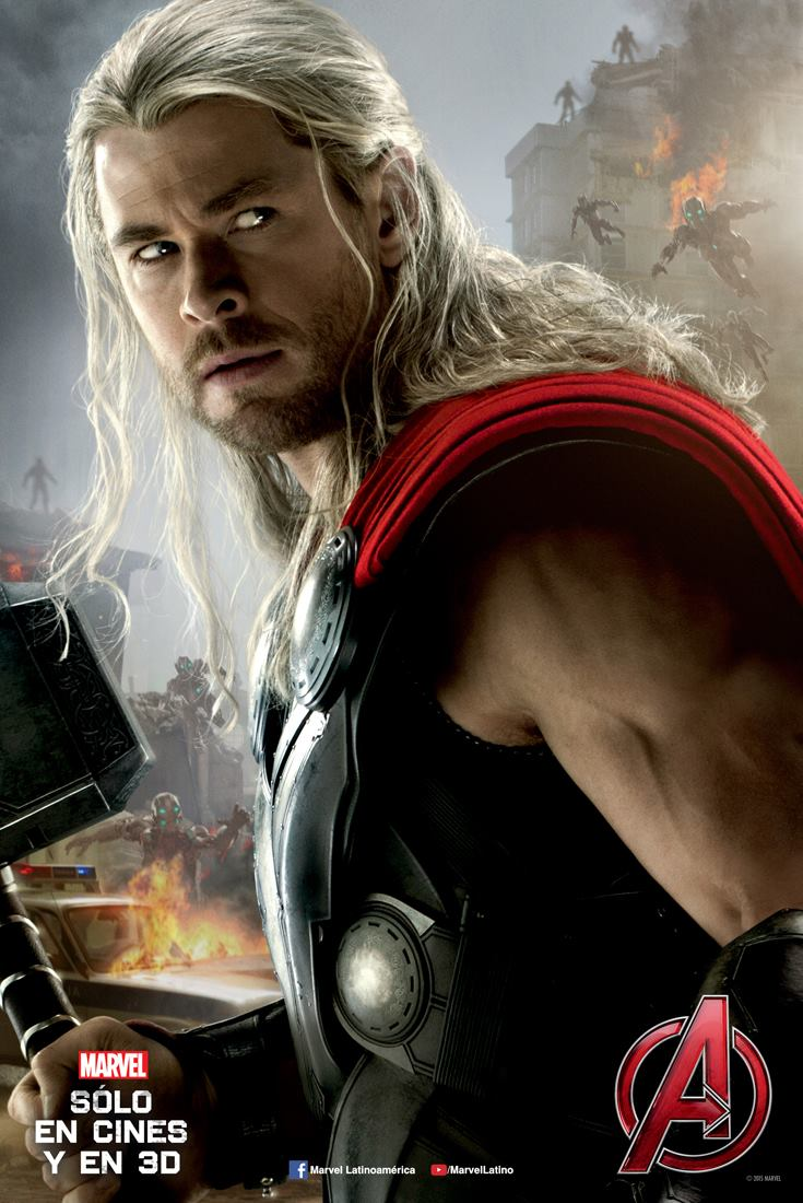 poster avengers age of ultron Thor