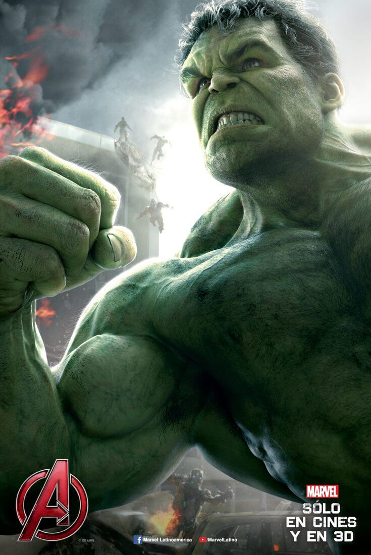 poster hulk avengers age of ultron