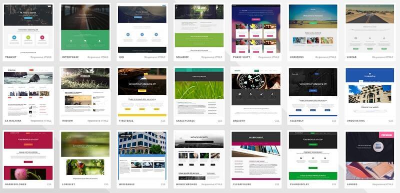 Templated: Galería de templates web responsivos grat... - Frogx Three