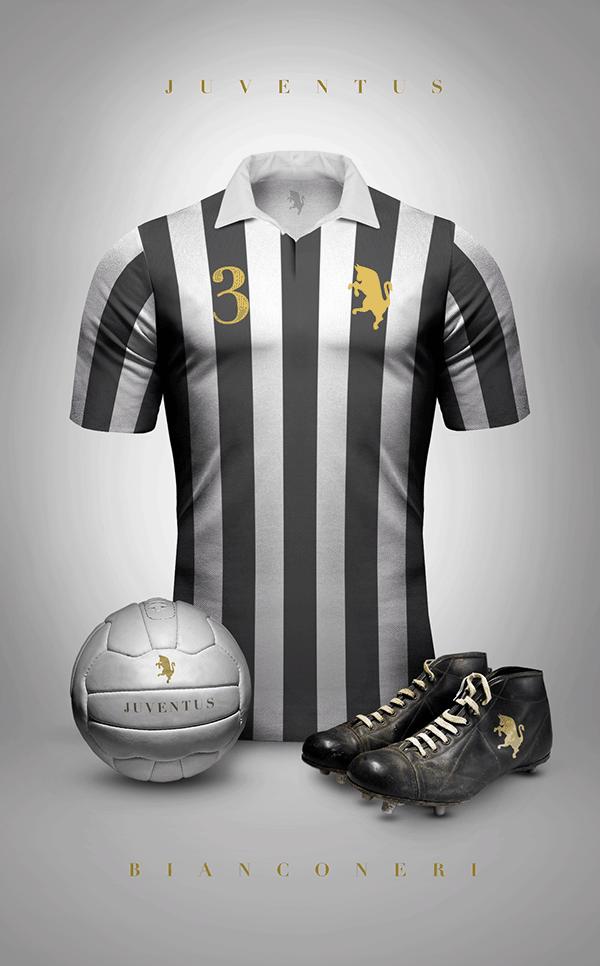 uniformes clubs futbol vintage juventus