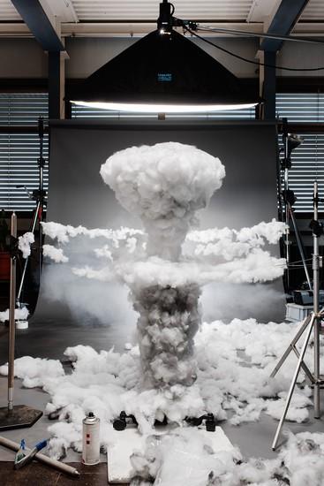 Explosión de Fat Man, nombre clave que se le dio a la bomba atómica lanzada sobre Nagasaki en 1945