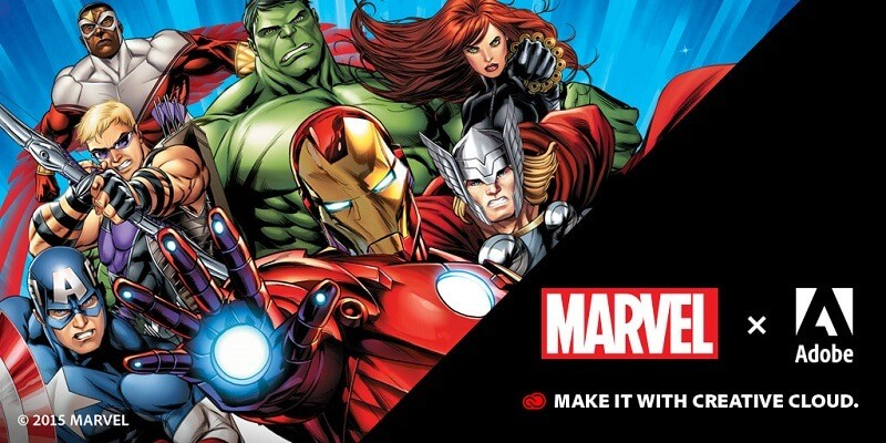 Convocatoria Adobe-Marvel-Your-Best-Work