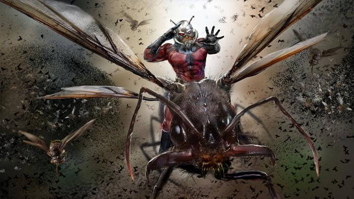 John Gallagher comics ant-man