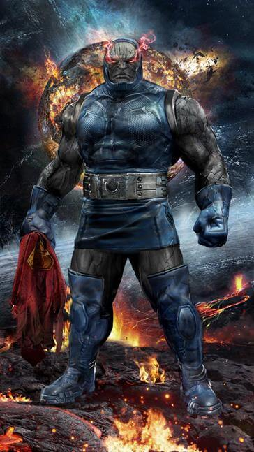 John Gallagher comics darkseid