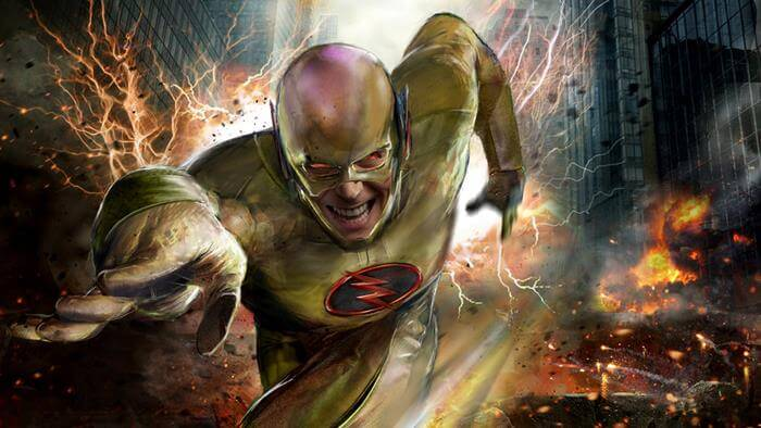 John Gallagher comics reverse flash