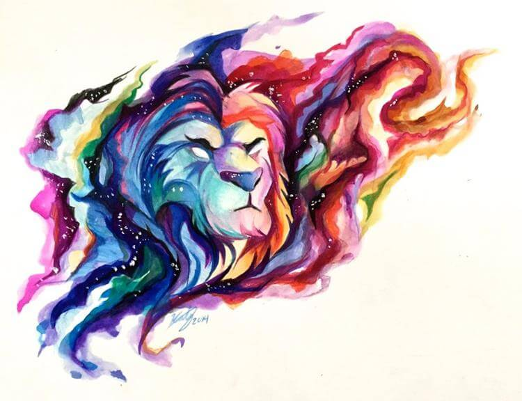 Image Result For Lion King Watercolour Tattoo