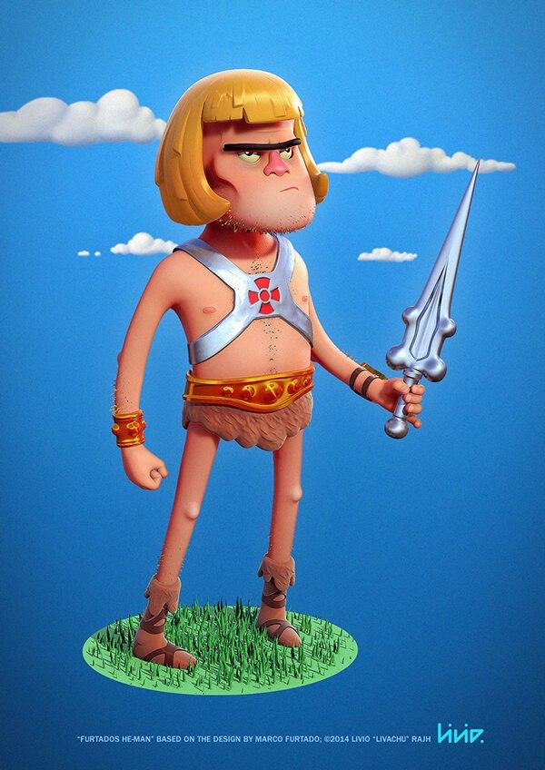 diseno 3D personajes Livio Rajh img 8