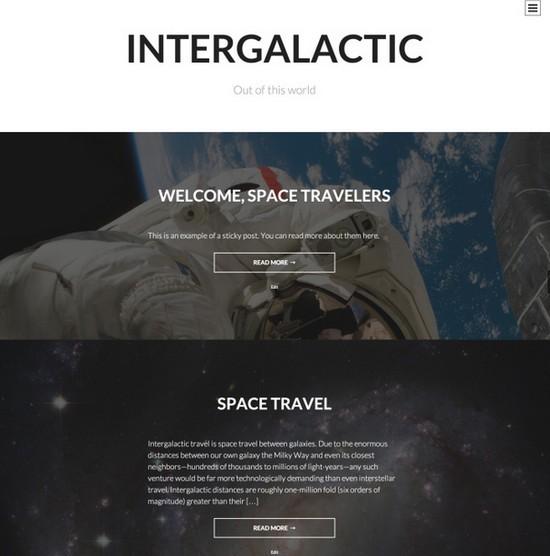 Intergalatic Theme