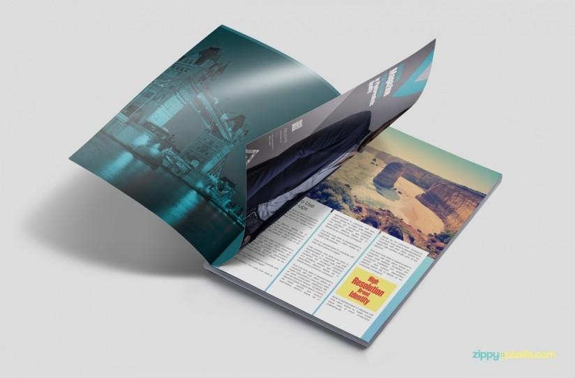 mockup de revista impresa img 1