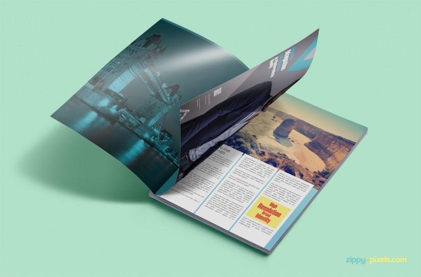 mockup de revista impresa img 2
