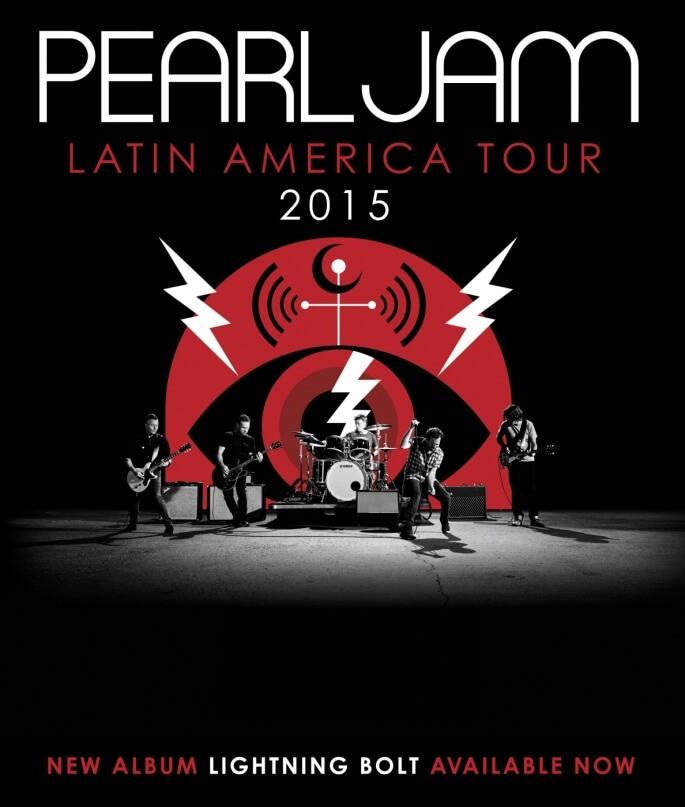 pearl jam america latina tour