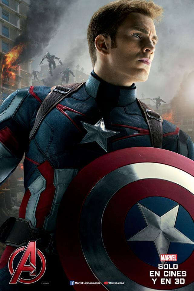 poster oficial capitan america