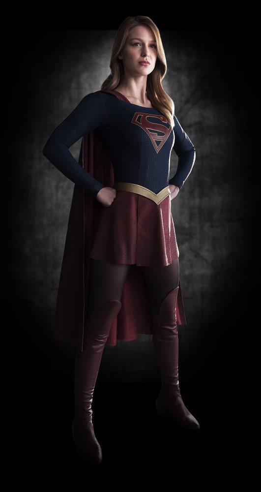 primera foto supergirl Melissa Benoist