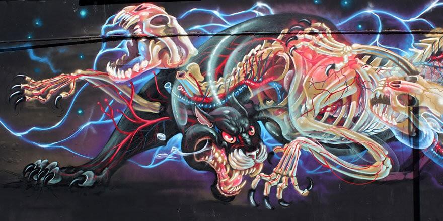street art anatomia caricaturas img 10