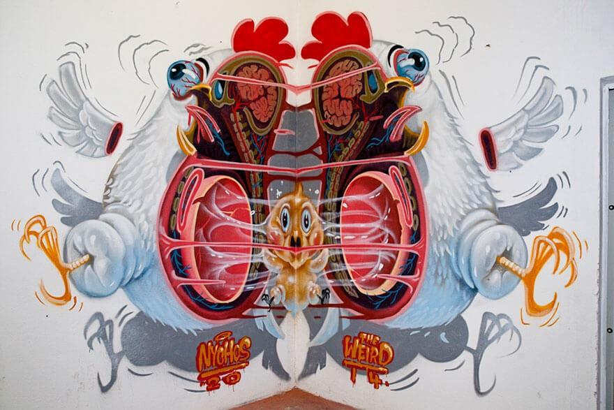 street art anatomia caricaturas img 11