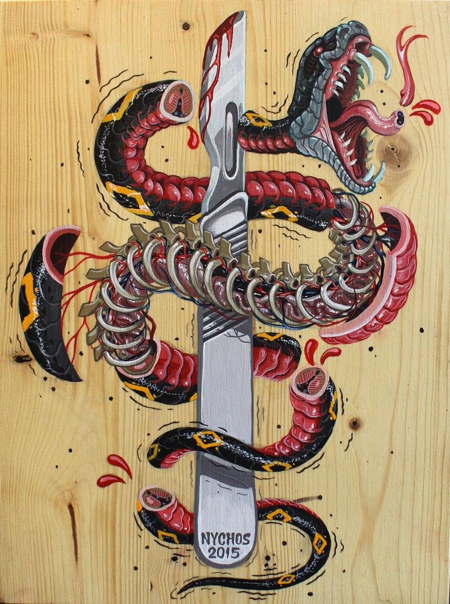 street art anatomia caricaturas img 12