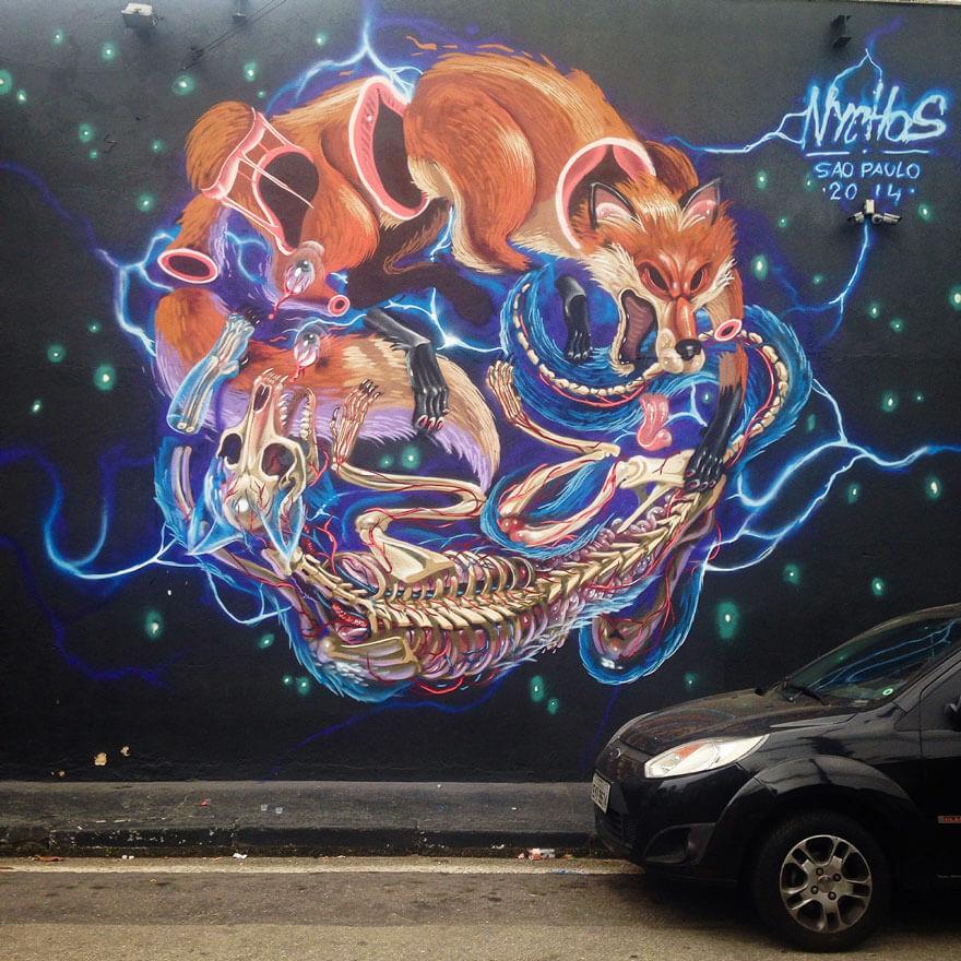 street art anatomia caricaturas img 2