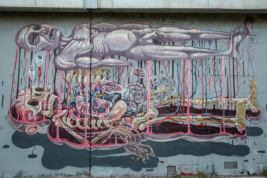 street art anatomia caricaturas img 7