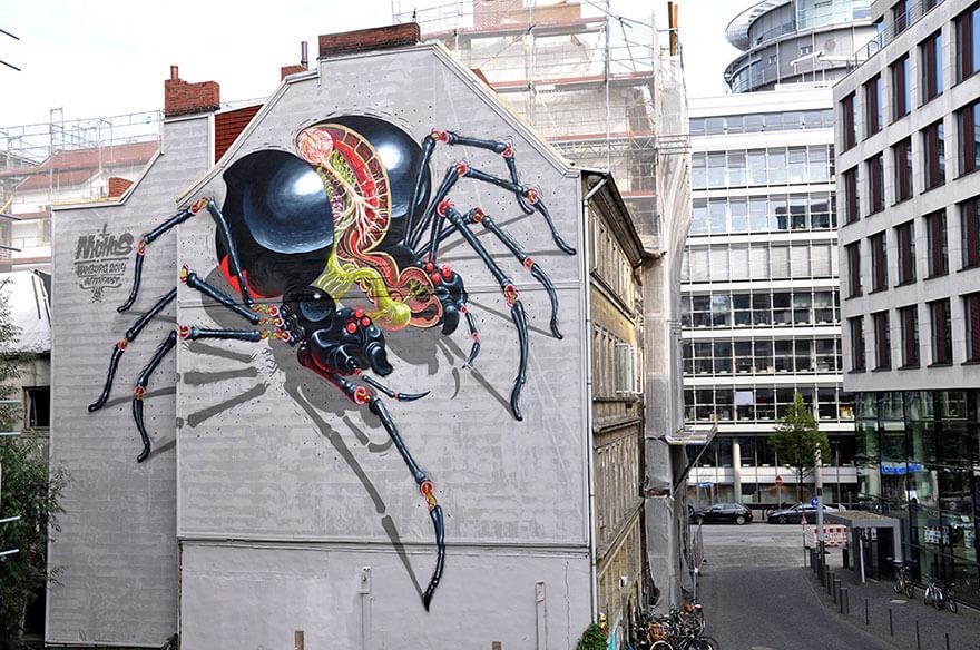 street art anatomia caricaturas img 9