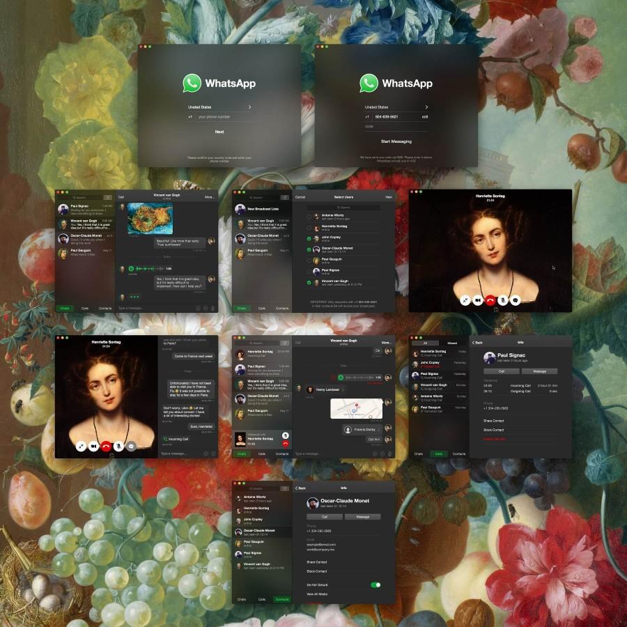whatsapp para ipad concepto