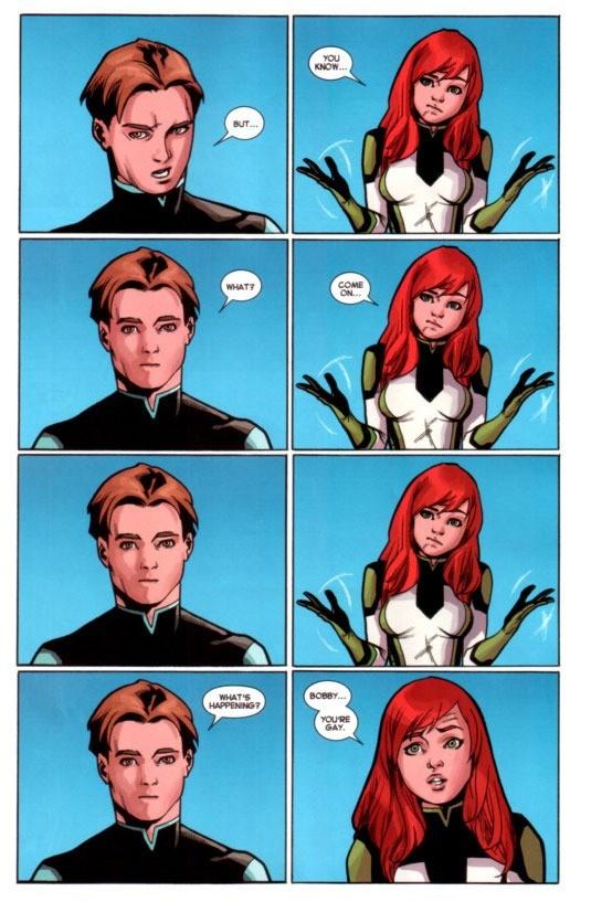 Iceman comic 2